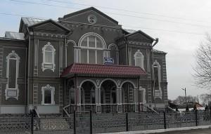 церковь хве в Ольшанах фасад