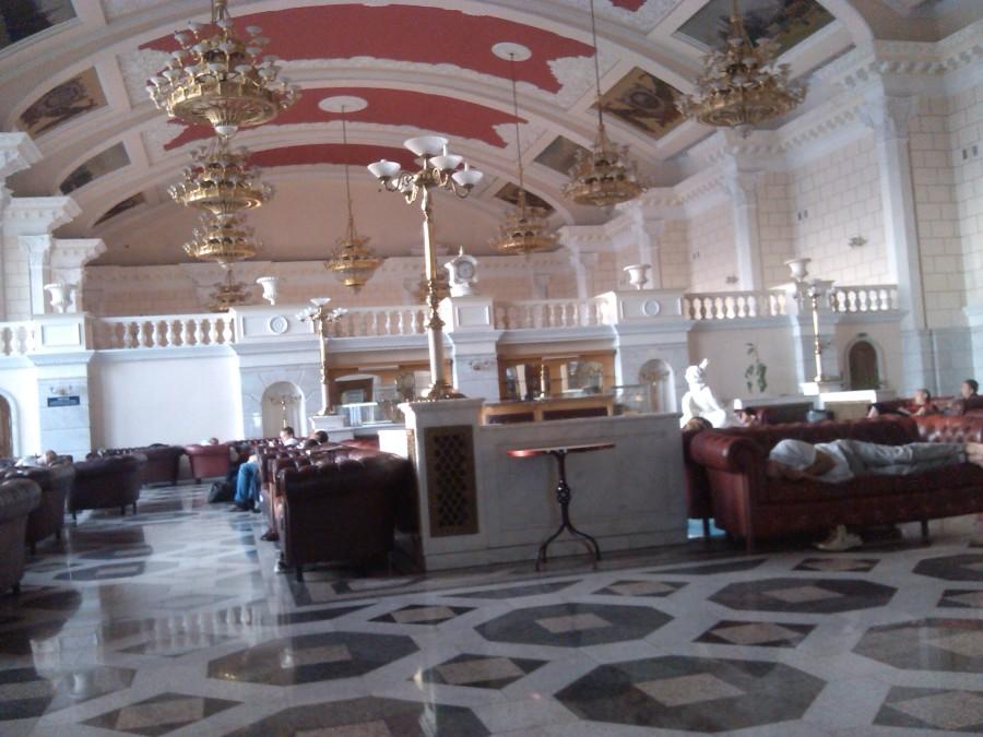 Киев вокзал зал отдыха